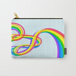 Spaghetti Rainbow Carry-All Pouch