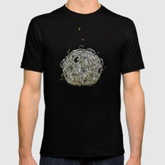 Sr Coprofago - Beetle shit Mens Fitted Tee Black MEDIUM