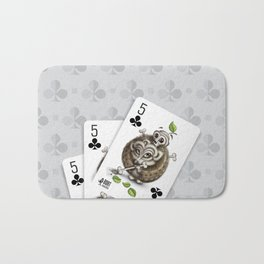Small but Dangerous / Cards for my arts Bath Mat