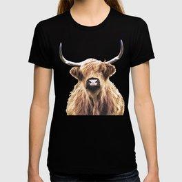 Highland Cow Portrait T-shirt