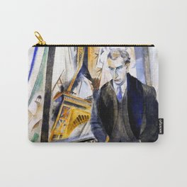 Robert Delaunay - The poet Philippe Soupault Carry-All Pouch