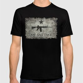 Come and Take it Flag with AR-15 T-shirt