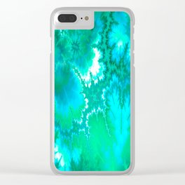Synaptic Transmission Green Solace Clear iPhone Case
