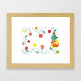 Kitchen bobo bird Framed Art Print