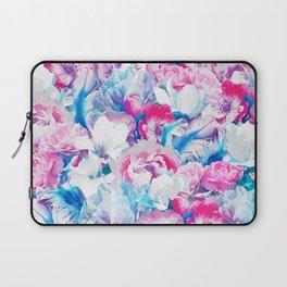 FLORAL GARDEN Peony & Magnolia Laptop Sleeve