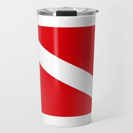 Diving flag Travel Mug