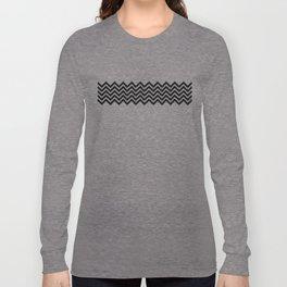 black chevron Long Sleeve T-shirt
