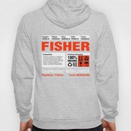 Funny Fisher Tee Hoody