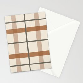 Kindred Plaid Natural Stationery Cards