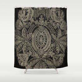 Vintage Lace Shower Curtain