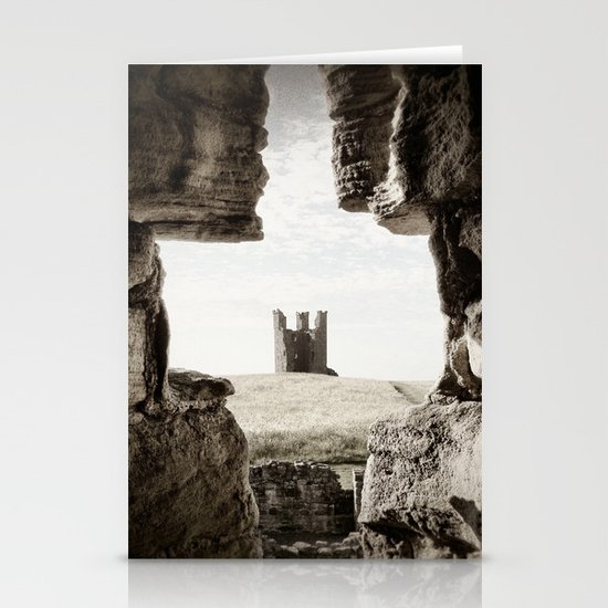 Dunstanburgh Castle II Stationery Cards