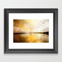 Waterway Framed Art Print