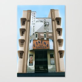 CINEMA PANTHEON Canvas Print