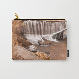 Rustic Rock Run Falls Carry-All Pouch
