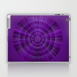 Magical Mystery Purple Shimmering Object Laptop & iPad Skin