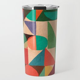 Color Field Travel Mug