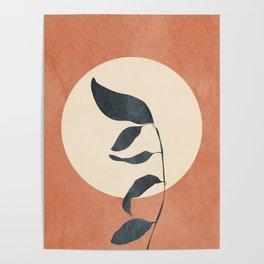 Summer Leaves Poster