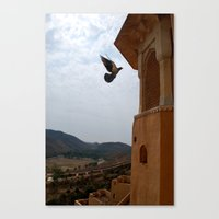 wings Canvas Prints featuring Wings by Nyay Bhushan