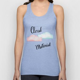 Cloud Material Unisex Tank Top