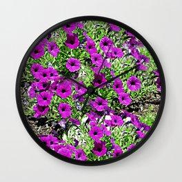 Flowers 114 Wall Clock