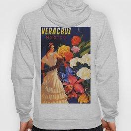Veracruz Travel Poster Hoody