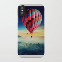 hot air balloons iPhone & iPod Cases featuring Hot Air Balloons by EclipseLio