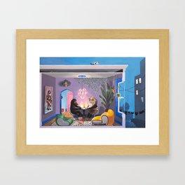 Rooms (right) Framed Art Print
