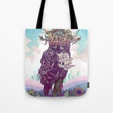 Journeying Spirit (Owl) Tote Bag