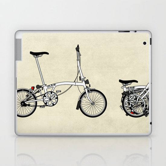 Brompton Bicycle Laptop & iPad Skin