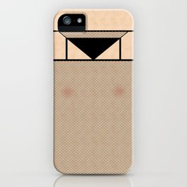 Fishnet Stockings and Black Knickers iPhone Case