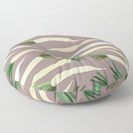 Daikon Radish Carrot Roots Floor Pillow
