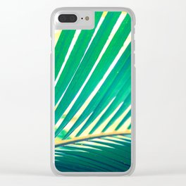 Tropical Exuberance I Clear iPhone Case