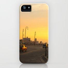 Sunset in La Habana iPhone Case