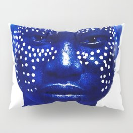 Face with Dots - Ethiopia Pillow Sham
