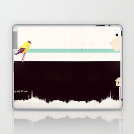 When the night falls quiet. Laptop & iPad Skin