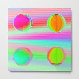 Double double dot Metal Print