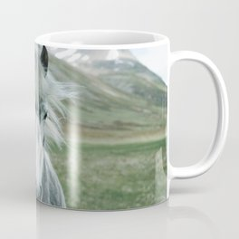 Grey Horse Coffee Mug