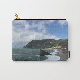 Monterosso Beach, Cinque Terre, Italy Panorama Carry-All Pouch