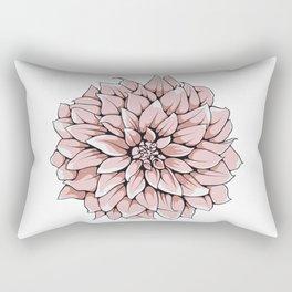 Big Georgina Flower Rectangular Pillow