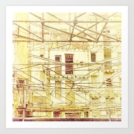 Under Conctruction Art Print