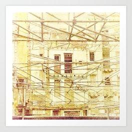 Under Conctruction Art Print