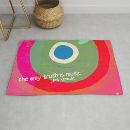 Music - the only truth Rug