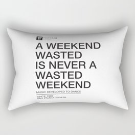 Weekend Rectangular Pillow