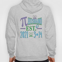 Husband Pi Day Wedding - March 14 2021 Math Lover Fiance graphic Hoody