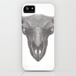American Bison Skull iPhone Case