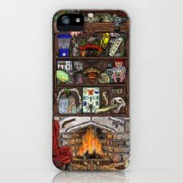 Creepy Cabinet of Curiosities iPhone Case