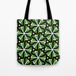 colorful illusion pattern background Tote Bag