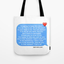 THIS IS LOVE. Tote Bag