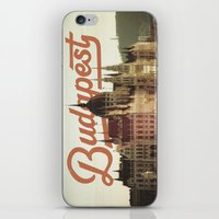 budapest iPhone & iPod Skins featuring Budapest by Amigo Vic
