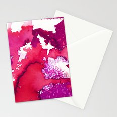 Oahu Red Stationery Cards